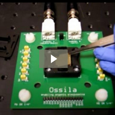 Video: How to Use the Ossila OFET Testboard