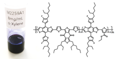 pbdb-tf-t1 chemical structure and solubility in o-xylene