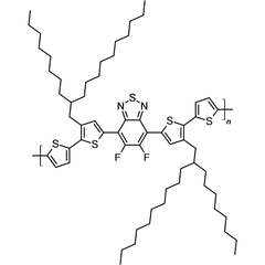 chemical structure of PCE11 (PffBT4T-2OD)
