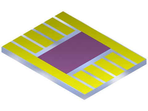 Photovoltaic substrate coated with active layer eg. perovskite or OPV