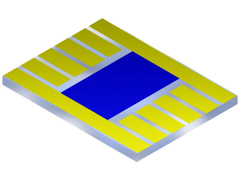 Photovoltaic substrate coated with PEDOT:PSS