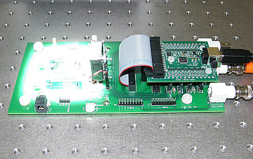 Photovoltaic testing on the USB LED PV Test Board