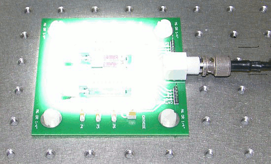Testing photovoltaic using ZIF test board