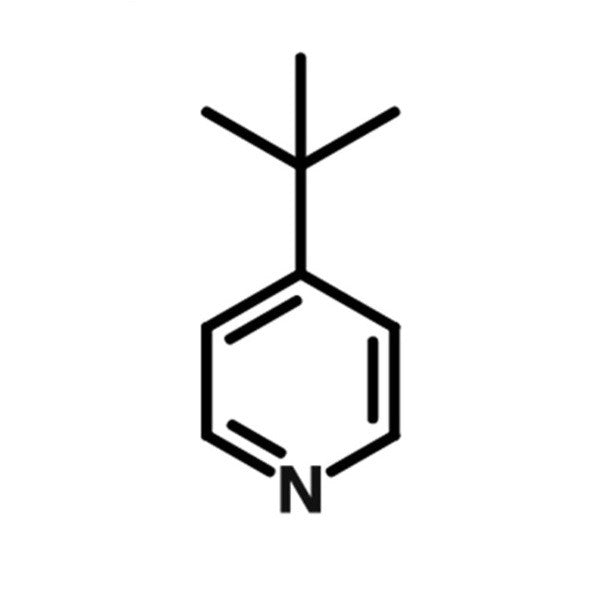chemical structure of 4-tert-pyridine, tbp