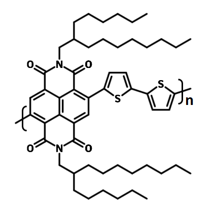 PNDI(2HD)2T, P(NDI2HD-T2) chemical structure