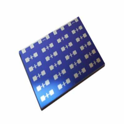 Platinum OFET Test Chips (High-Density)