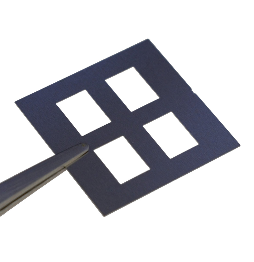 Measurement Aperture Mask for 25mm Square Substrates
