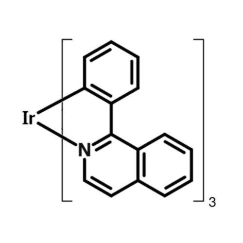 Ir(piq)3 chemical structure