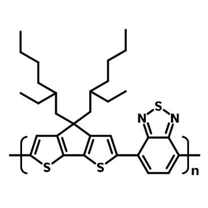 pcpdtbt chemical structure, 920515-34-0