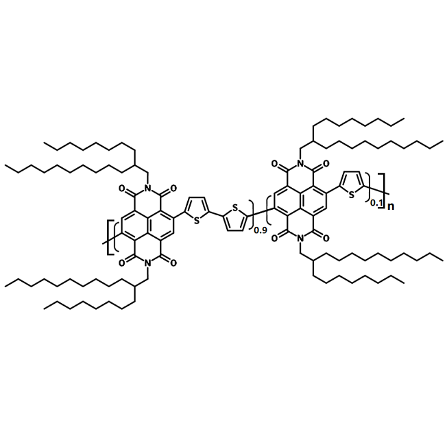 PNDI-T10 chemical structure, PCE9, 1977539-03-9