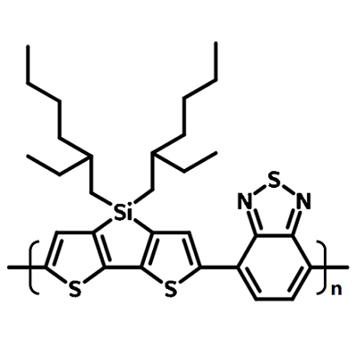 psbtbt chemical structure, si-pcdtbt, 1089687-02-4