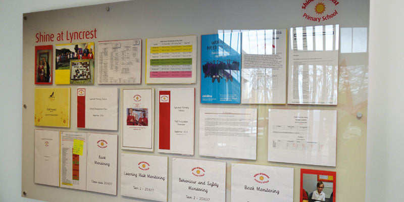 Case Study: New displays add shine to Primary School