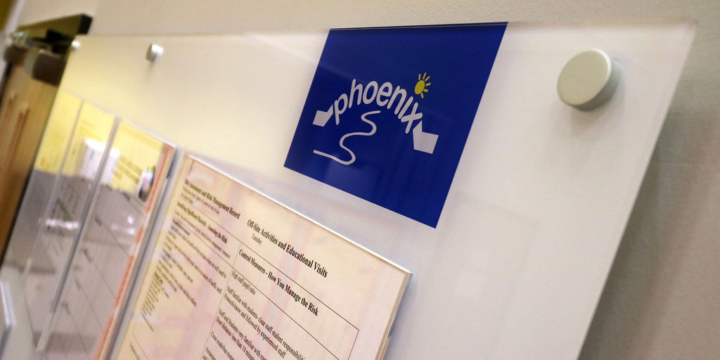 Case Study: clearly presented information helps organise a busy school