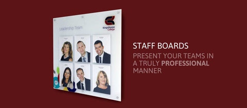 Staff Photo Boards