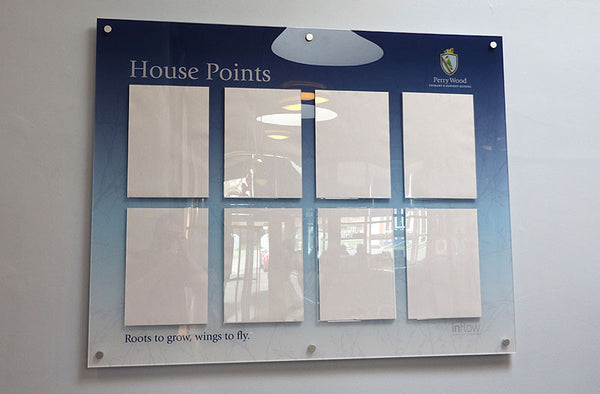 School house point display board