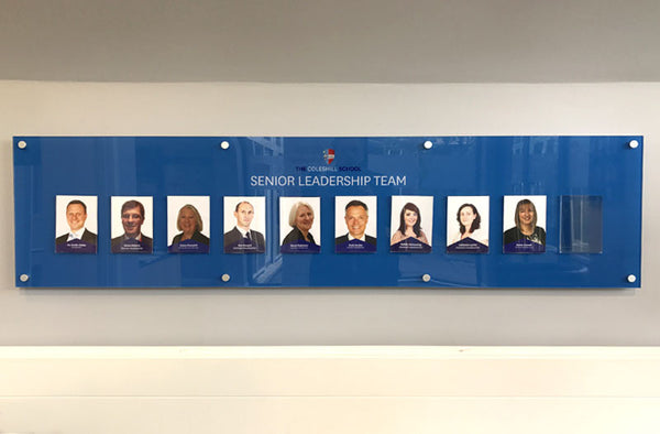 Leadership team board