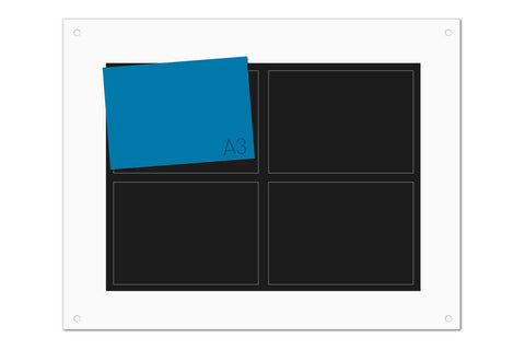 4 Pocket Essentials Photo Board (A3)