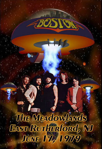 Boston Live at Giants Stadium, The Meadowlands June 17, 1979 DVD