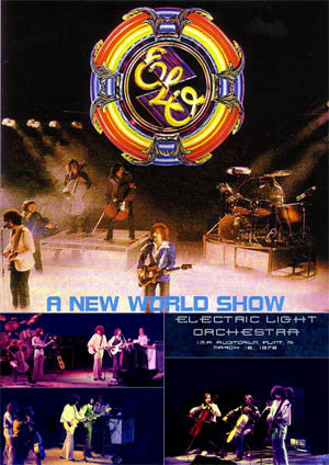 Electric Light Orchestra Live in Flint, MI., 3-16-1976 2CD set