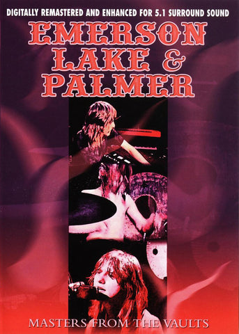 Emerson, Lake, & Palmer - Masters From The Vaults DVD