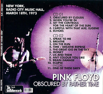 Pink Floyd - Radio City Music Hall - March 17, 1973