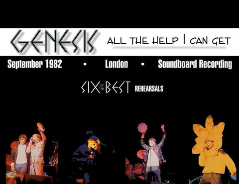 Genesis - Six Of The Best Soundboard Rehearsals - September 29,1982
