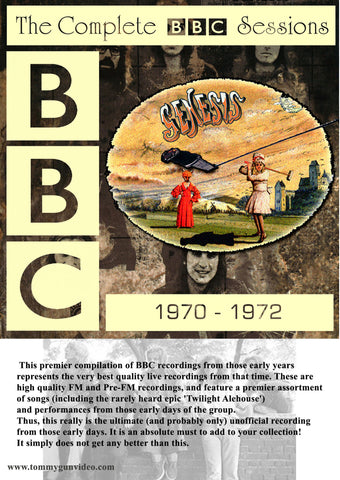 Genesis - The Complete BBC Sessions 1970-1972 2CD Set