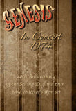 Genesis In Concert 1974 Selling England Tour disc two NTSC