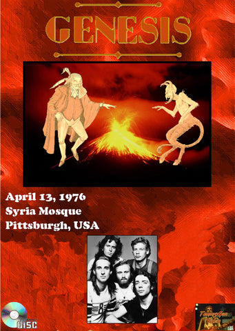 Genesis Live At The Syria Mosque April 13, 1976
