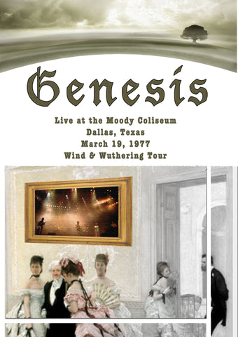 Genesis Live In Dallas March 19, 1977 2Cd Set