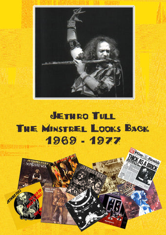 Jethro Tull - The Minstrel Looks Back 1969-1977 2DVD Set