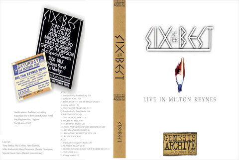 Genesis - Six Of The Best Reunion Live At Milton Keynes 1982 2Cdr Set