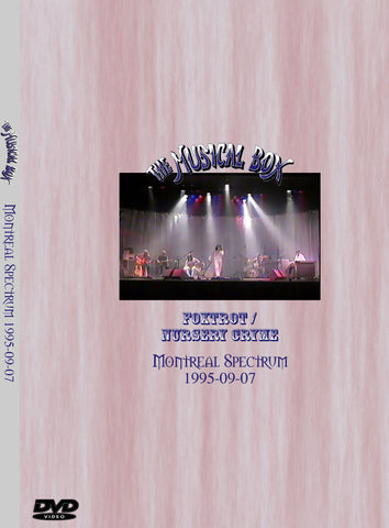 The Musical Box Live In Montreal 1995 DVD