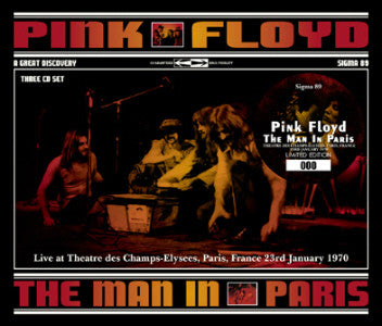 Pink Floyd - Paris, France - January 23, 1970