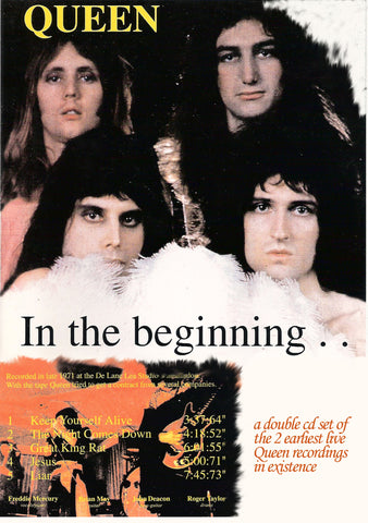 Queen - In The Beginning 1971-1973 2Cd Set