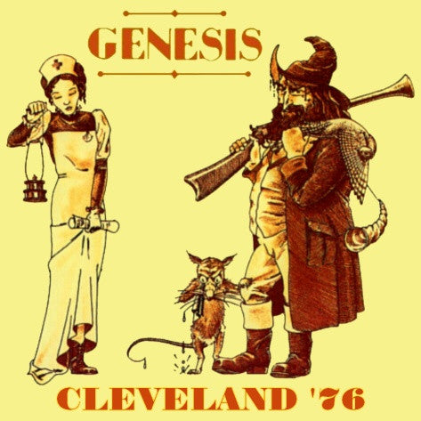 Genesis - Cleveland Music Hall, April 15, 1976