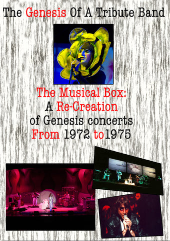 The Musical Box The Genesis Of A Tribute Band DVD