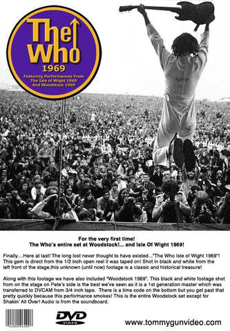 Image result for the who live at woodstock images