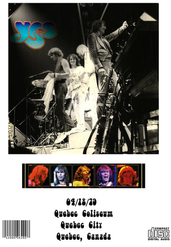 Yes - Circus Of Heaven - Quebec April 18, 1979 Tormato Tour 2CDr Set