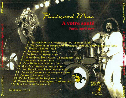Fleetwood Mac - Paris, France - April 14, 1977
