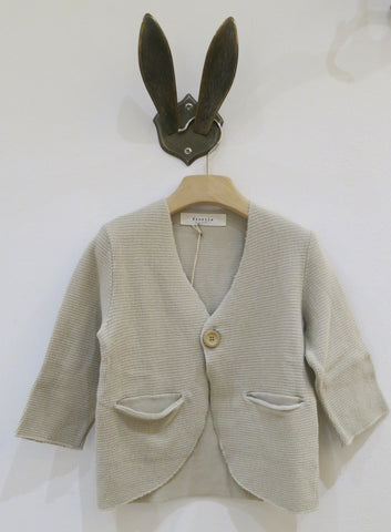 FIORILE - Moon cloth stitch fleece blazer cod 1916