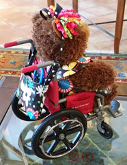 Abby - HDS Medallion's Mascot Has Her Own Wheelchair Bag