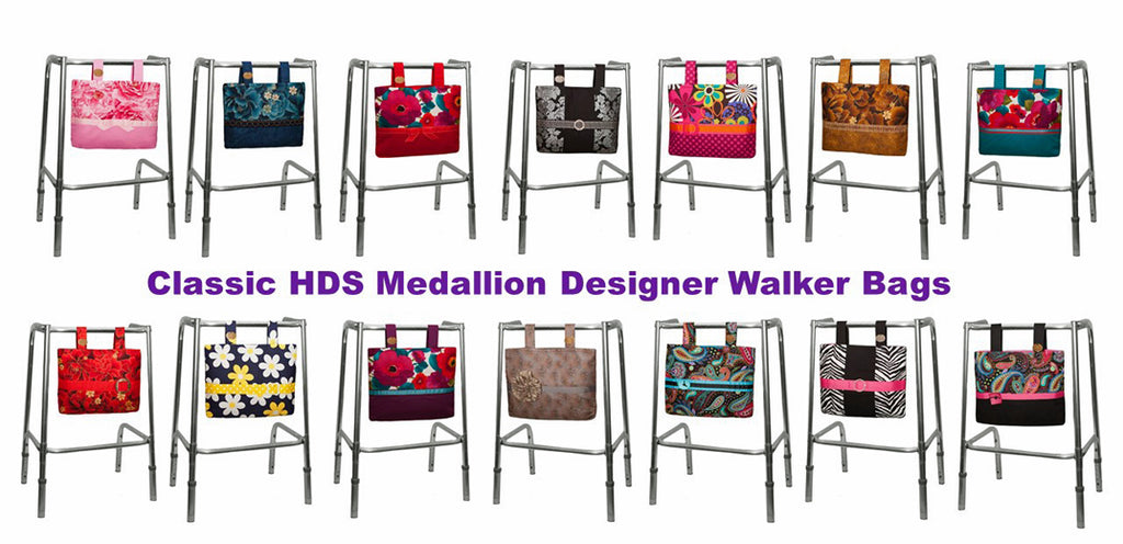 Our Gorgeous HDS Medallion Classic Bags Shown on Walkers