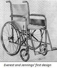 The first portable, lightweight wheelchair that changed mobility devices forever