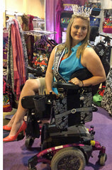 Skylar Conover Endorses HDS Medallion Bags For Wheelchairs