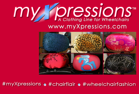 This Disabled Woman Owned Business Makes Stylish Wheelchair Headrest Covers