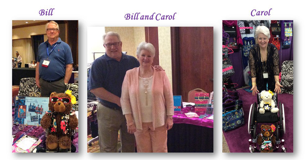HDS Medallion Co-Owners - Bill and Carol Rady