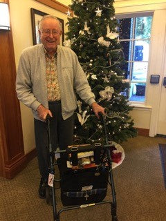 Even Men Received HDS Medallion Bags at Christmas at Villa Sienna