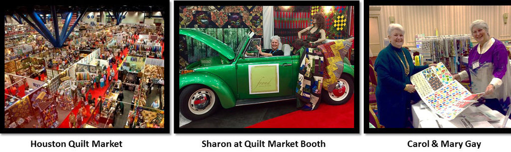 HDS Medallion Attends Quilt Show For Ideas