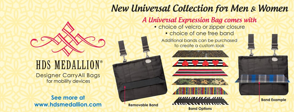 HDS  Medallion Universal Bags - Tailored To Your Style
